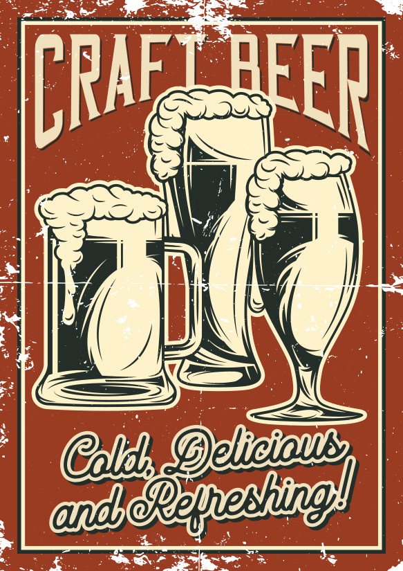Craft Beer Poster by Coartive